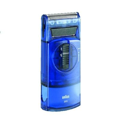 Braun 370, blue-translucent Clamshell 5615 Pocket Twist plus, Pocket, E-Razor onderdelen en accessoires