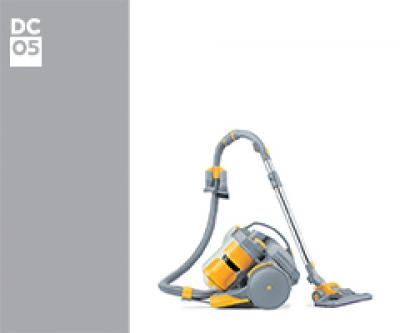 Dyson DC05 04010-20 DC05 Absolute Turbo Euro (Purple/Lime) onderdelen