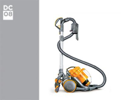 Dyson DC08 09921-01 DC08 Allergy Turbine Euro 09921-01 (Dark Steel/Arctic Green) onderdelen