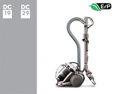Dyson DC19 ErP/DC29dB ErP 13010-01 DC29 dB ErP Euro   (Iron/Bright Silver/Moulded White) 2 onderdelen