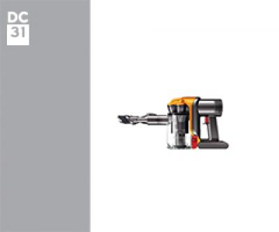 Dyson DC31 17792-01 DC31 Car and Boat Euro (Iron/Satin Blue) onderdelen