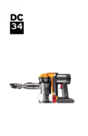 Dyson DC34 21494-01 DC34 Car and Boat Euro (Iron/Satin Blue) onderdelen