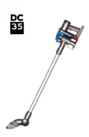 Dyson DC35 20831-01 DC35 Digital Slim Euro (Iron/Bright Silver/Blue) onderdelen